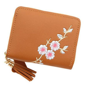 Womens Brown Wallet / Purse